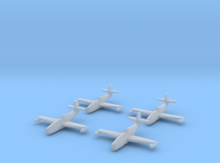 1/350 Yakovlev Yak-23 (landing gear up) x4 3d printed