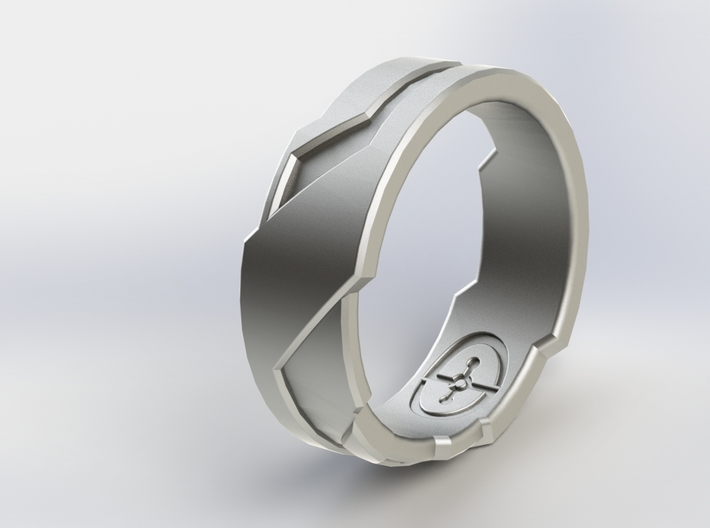 Ring Size N 1/2 (US Size 6 3/4) 3d printed