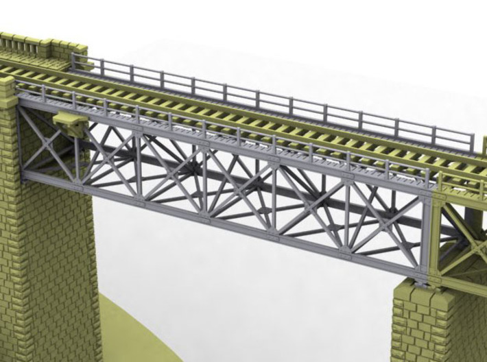 NV4M02 Modular metallic viaduct 1 3d printed