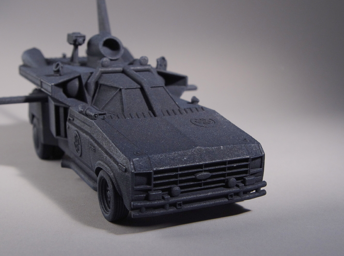"Buckaroo Banzai Jet Car MK III - 1:25 Scale - 9.5"" 3d printed Created from screengrabs and production stills."