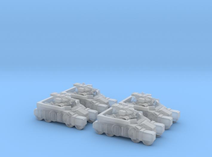 Light Assault Walker Platoon Stowed On Transport 6 3d printed