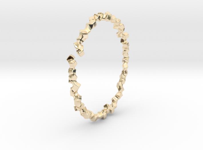 Bracelet of Cubes No.2 3d printed