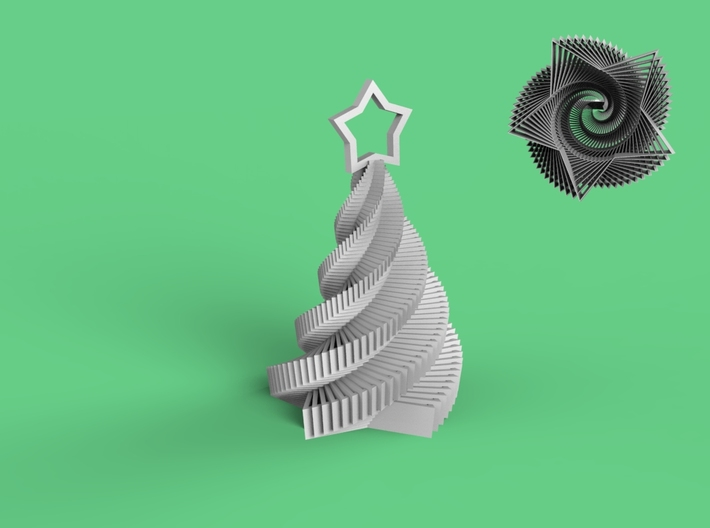 Starstruck Holiday Ornament from Carla Diana 3d printed