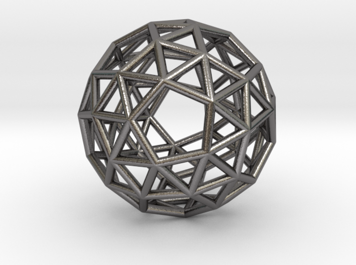 0272 Snub Dodecahedron E (a=1cm) #001 3d printed