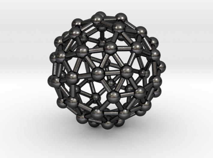 0386 Snub Dodecahedron V&E (a=1cm) #003 3d printed