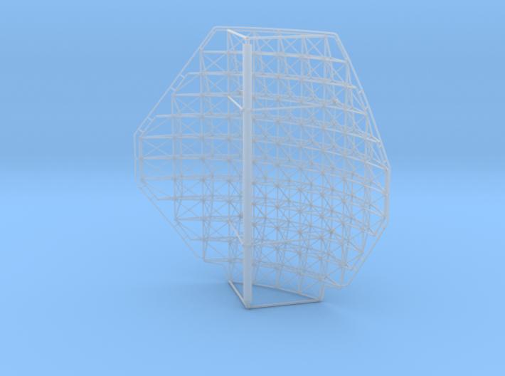 Voshkod Square Radar Dish 1/72 3d printed