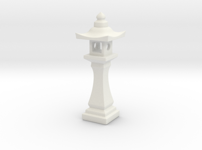 Japanese Stone Lantern (1:35) 3d printed