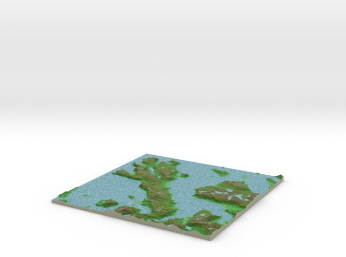 Terrafab generated model Thu Oct 29 2015 23:03:35 3d printed