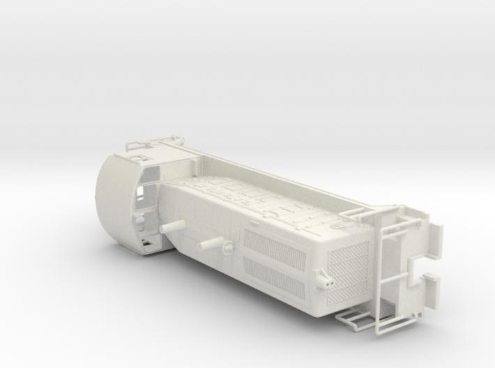 EMD SW7 Locomotive  H0 High Detailed 3d printed