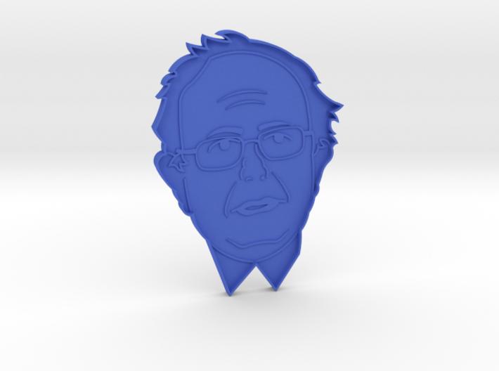 Bernie Sanders Cookie Cutter 3d printed