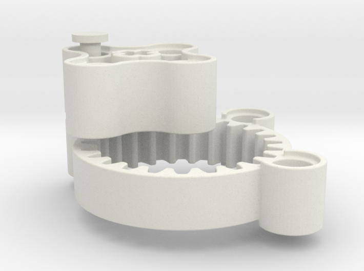 Planet gearbox 4:1 3d printed