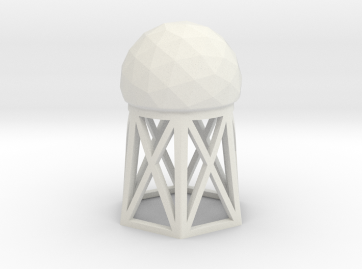 Radar Dome / Tower 3d printed