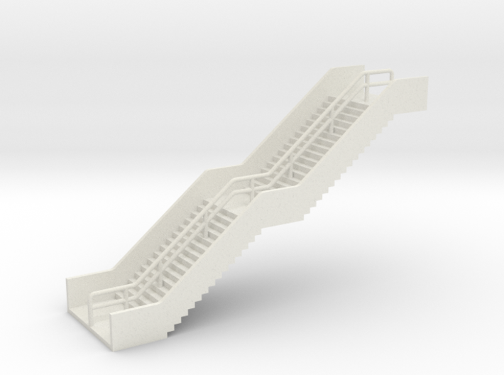 N Scale Station Stairs H40mm 3d printed