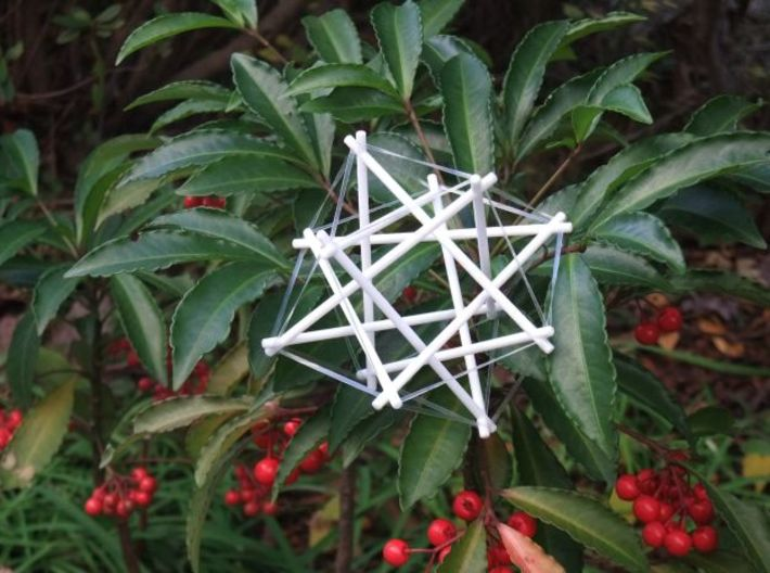 Tensegrity Cuboctahedron 1 3d printed