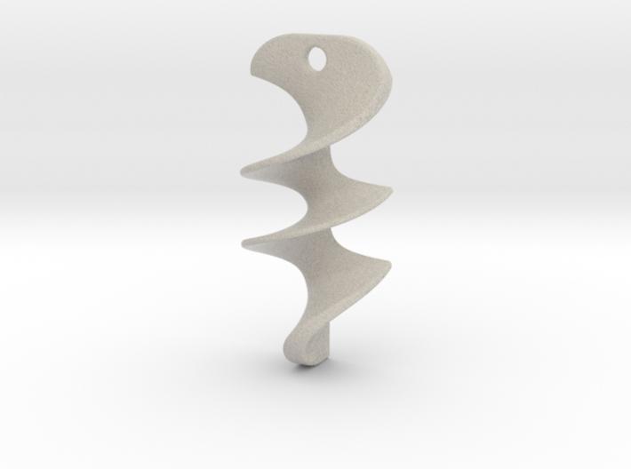 Necklace / Pendant-14 3d printed