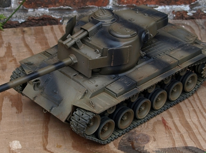 1/16 T26E1-1 Armoured Manlet Counterweight. 3d printed