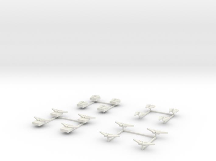 EQ01 3WA Flight Packs (28mm) 3d printed