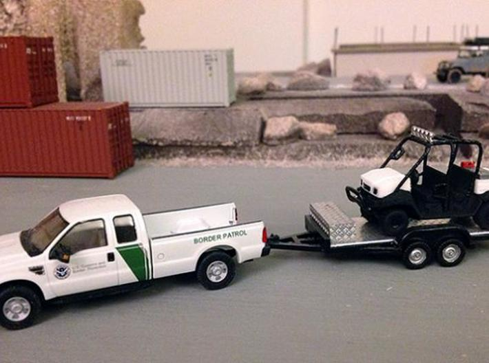 1/87 Scale MULE 4 Seater Short Bed 3d printed Photo By Mr. Holback