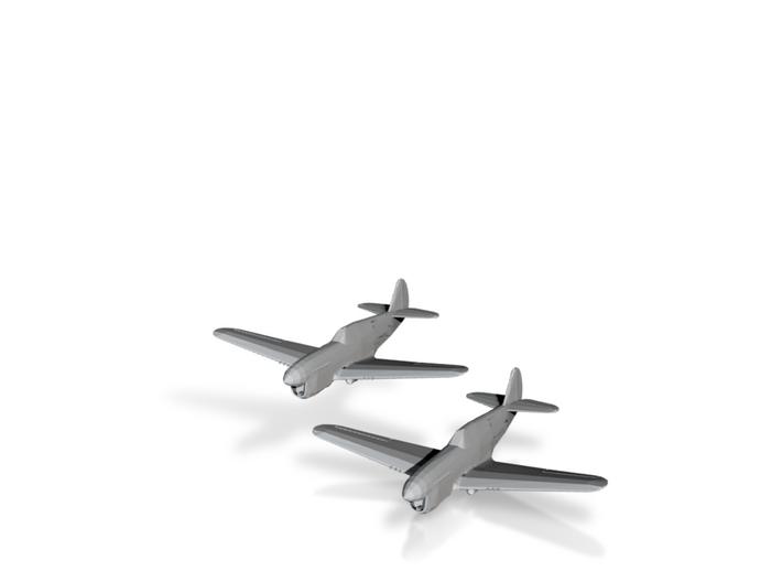 Curtiss P-40F/L 'Warhawk' 1/200 x2 3d printed