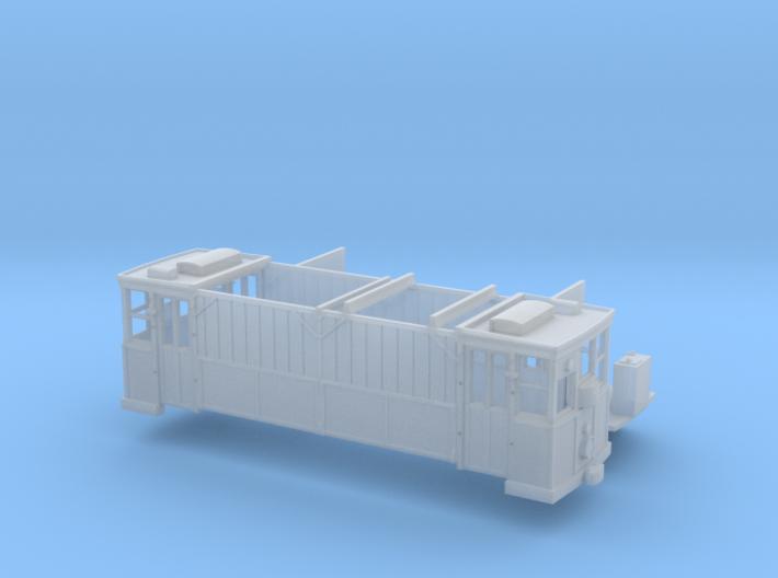 Kohlenwagen Wuppertal H0m 3d printed