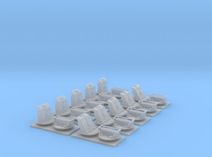 C97292 HOUSING, PERISCOPE and M6 PERISCOPE 1:35 3d printed