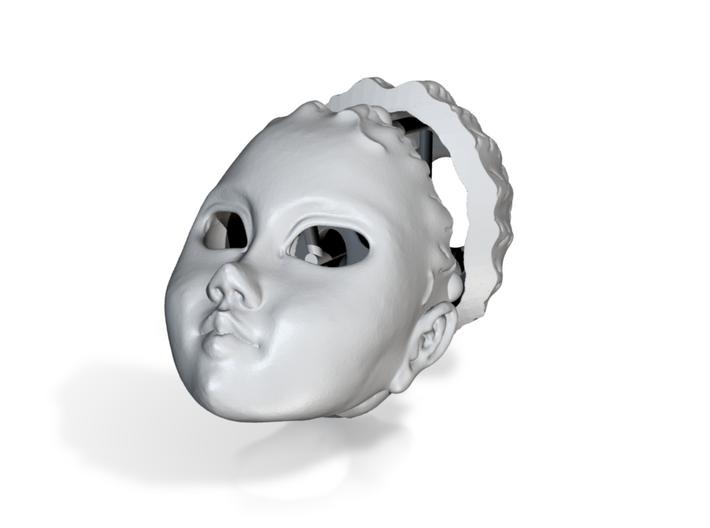 Dollhead Agnes (FPixie) 3d printed