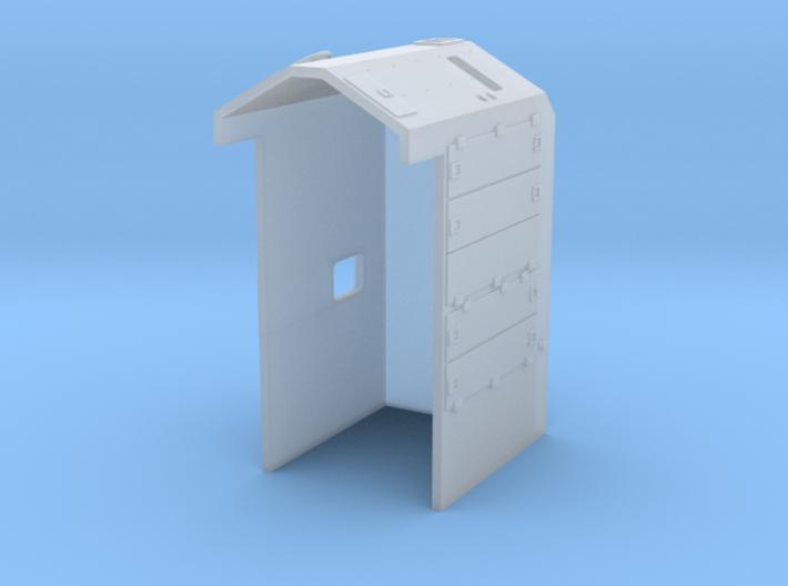 GE Dash 8 'B' (N/HO) 3d printed
