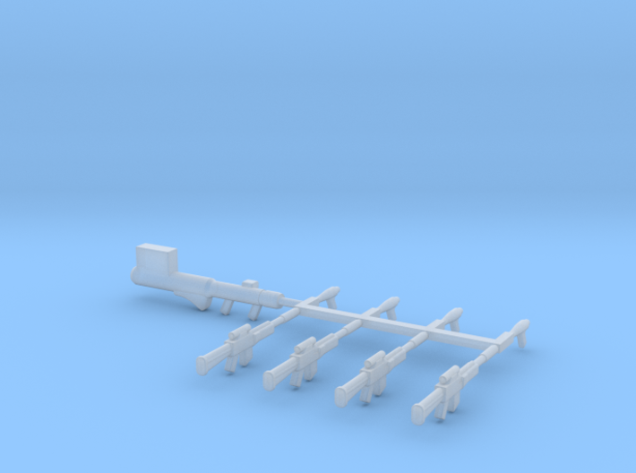 EQ05 Crusher Weapon Set (28mm) 3d printed