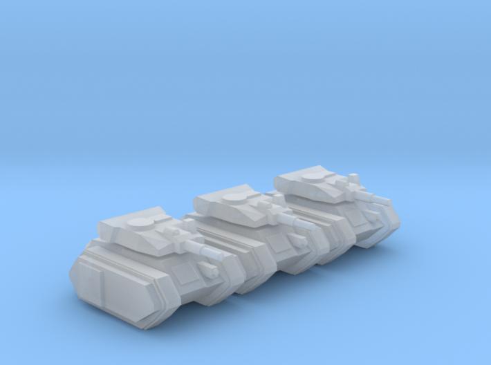 [3mm] Airborne Tank Plt 3d printed