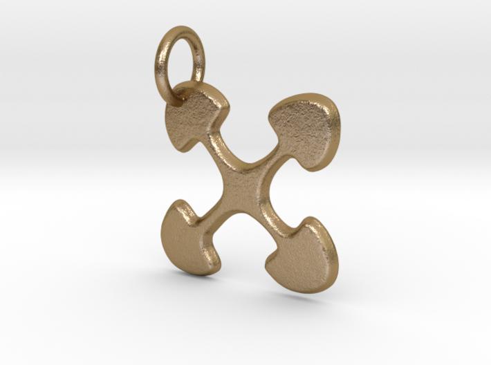 Ujima small charm 3d printed