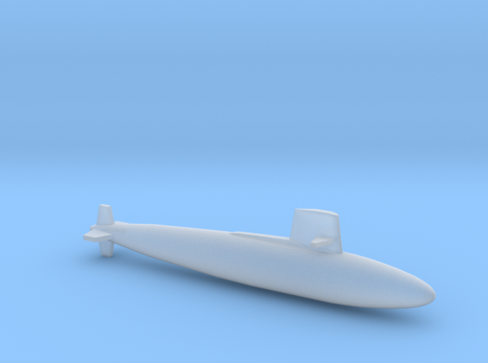 Skipjack class SSN, Full Hull, 1/2400 3d printed
