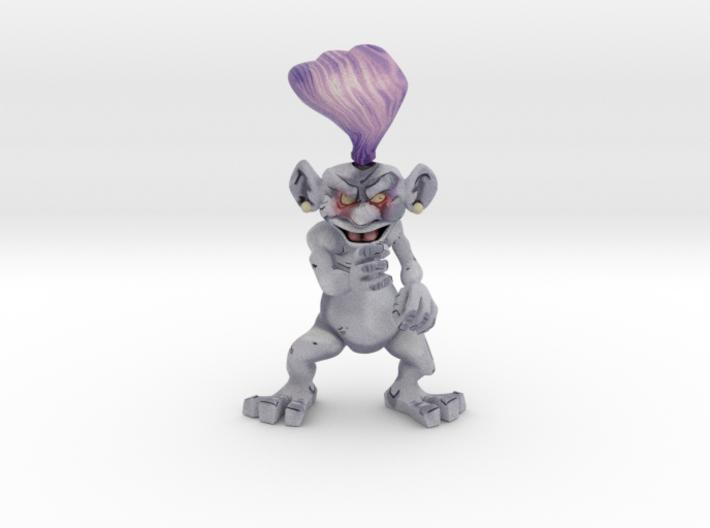 Purple Creeple 3d printed