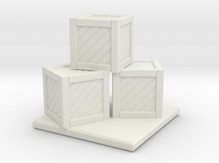 Crate Stack 3d printed