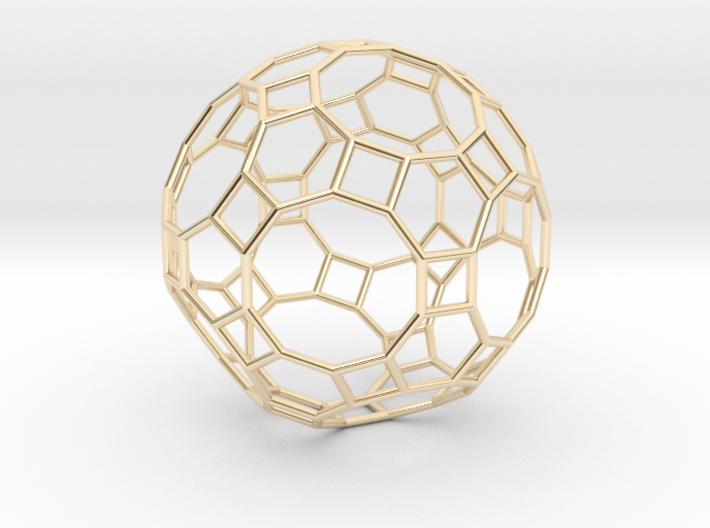 0283 Great Rhombicosidodecahedron E (a=1cm) #001 3d printed