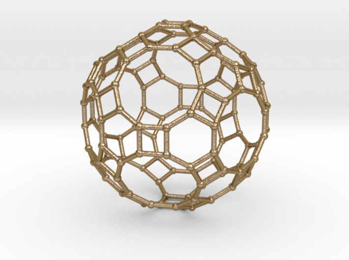0284 Great Rhombicosidodecahedron V&E (a=1cm) #002 3d printed