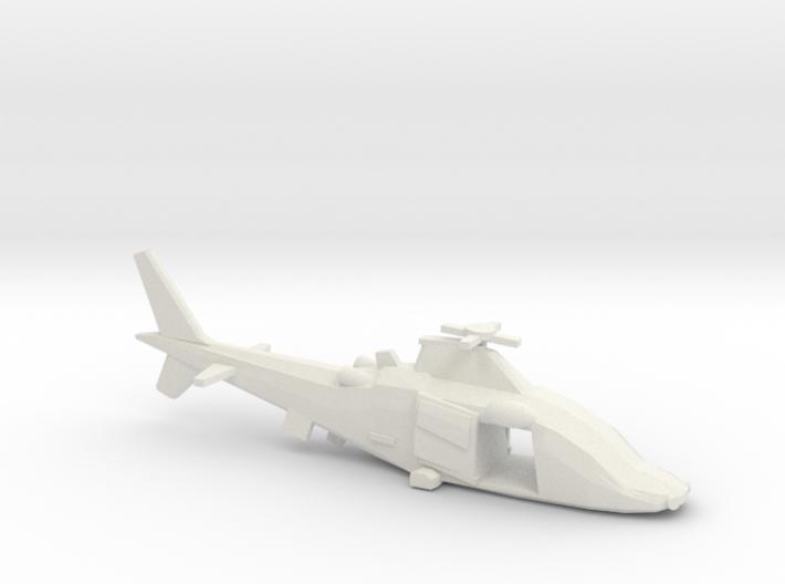 10mm (1/144) Agusta-Westland A109LUH (doors Open) 3d printed