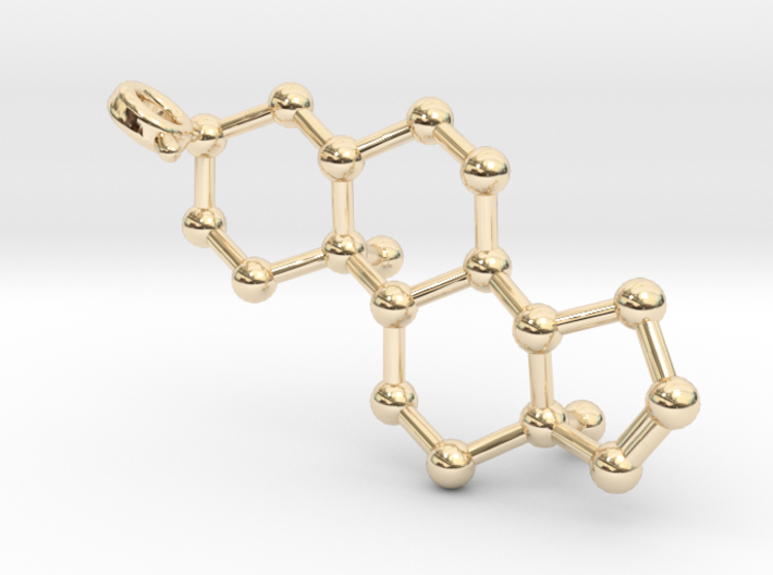 Androstenol 3d printed