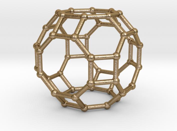 0287 Great Rhombicuboctahedron V&E (a=1cm) #002 3d printed