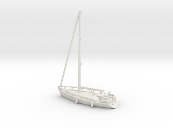 Sailboat 01.Z Scale (1:220) 3d printed