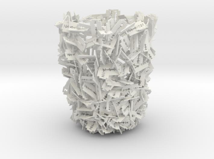 Razor Trash Bin 3d printed