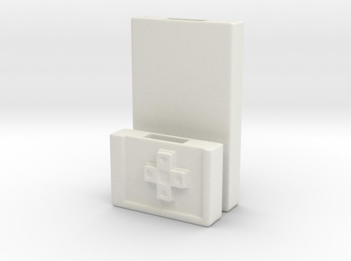Flash Memory Stick Nintendo Case 3d printed