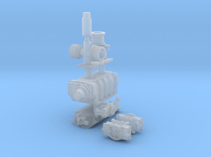 1/24 BBC GMC Blower System 3d printed