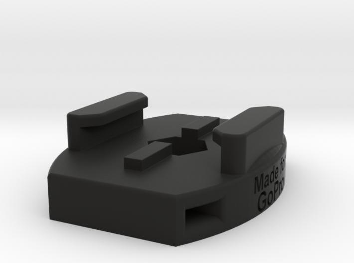 GoPro Standard Tripod and Zip Tie Mount 3d printed