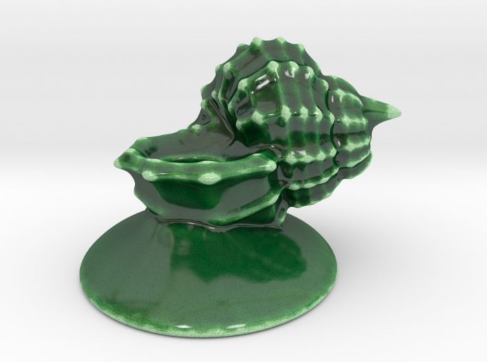 Seashell Candle Holder 3d printed