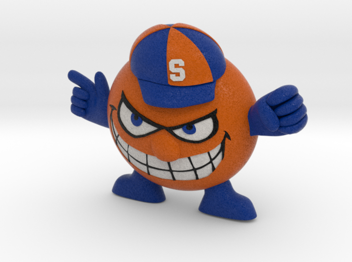 Syracuse Orange logo figurine 3d printed