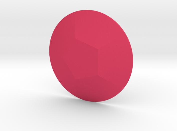 Steven Universe - Gem - Rose 3d printed