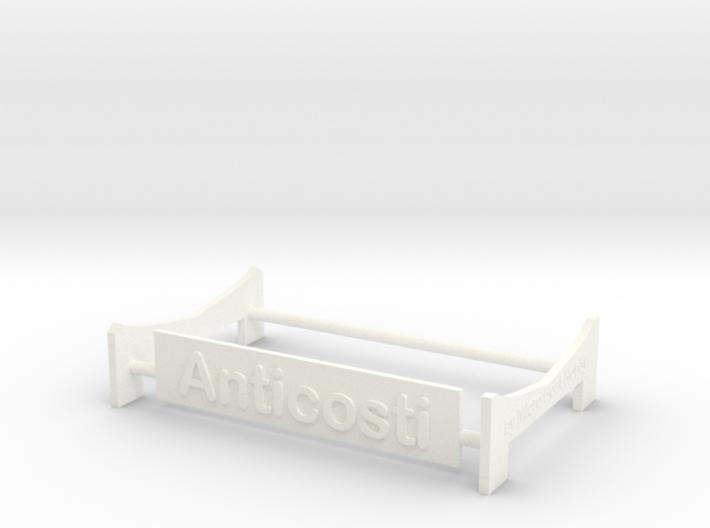 Anticosti, Display Stand (1:200) 3d printed