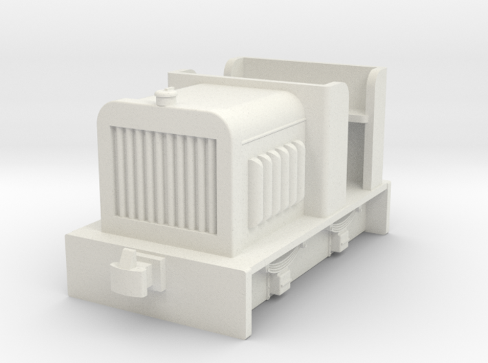 009 small diesel loco 2 ( open cab) 3d printed
