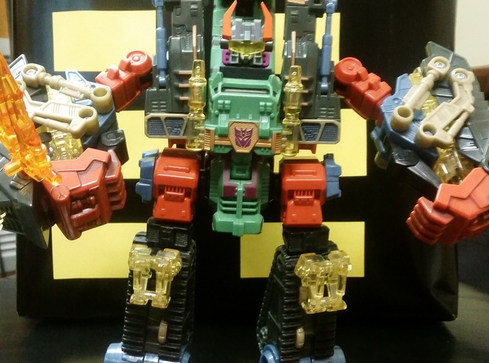 Energon Scorponok Headmaster Conversion Kit 3d printed