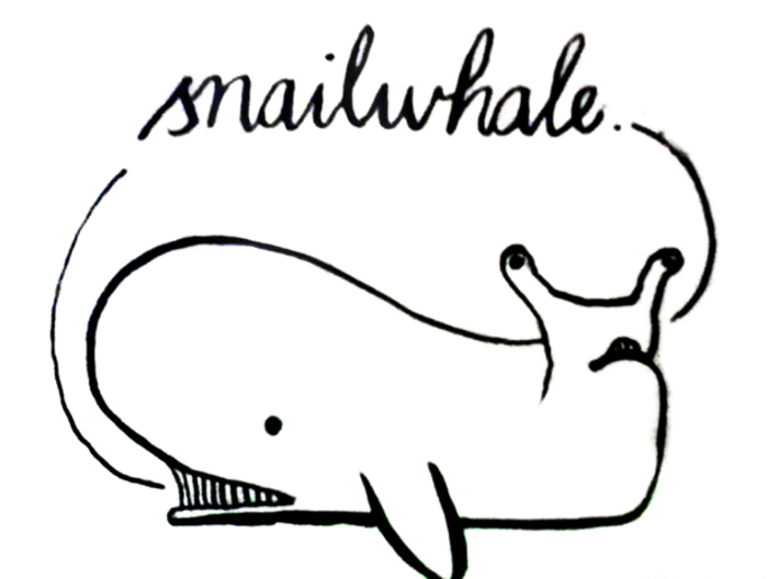 WhaleSnail 3d printed NOT A SNAILWHALE